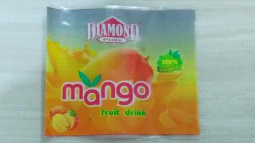 PVC Fruit Drink Label