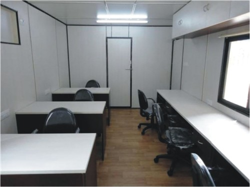 Portable Site Office Cabin in  Mumbra-Thane (W)
