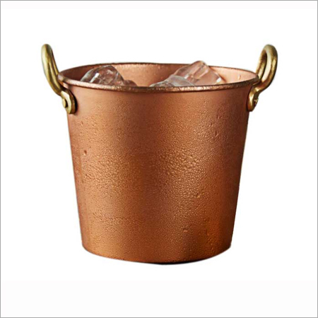 Copper Ice Bucket in  Asalatpura