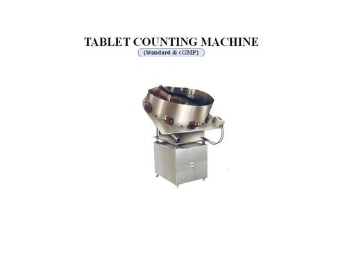 Capsules Tablet Counting And Filling Machines