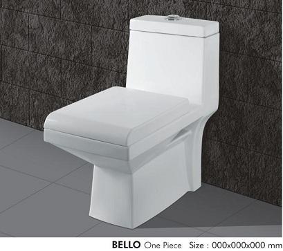 Bello One Piece Water Closet