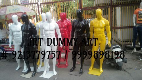 Oval Face Male Mannequins in  Laxmi Nagar