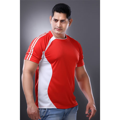 Red and White Sport T Shirts