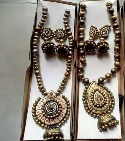 Terracotta Antique Necklace Sets