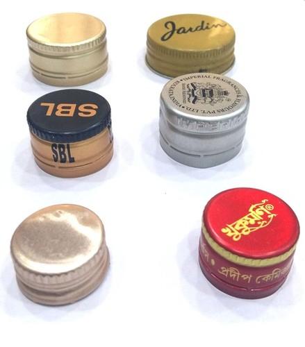 Metal Screw Caps 20 mm to 40 mm