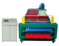 Double Layer Color Steel Panel Roll Forming Machine in   Kadodara Char Rasta