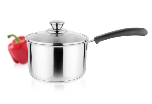 Stainless Steel Sauce Pan 16 cm Straight in  Wazirpur Indl. Area