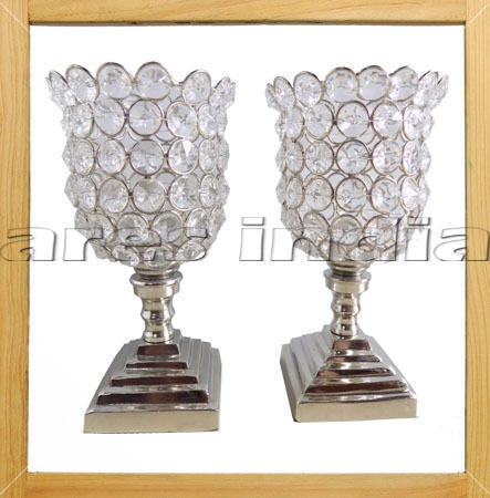 Crystal Votive Tealight Candle Holders Wedding Centerpieces in  Delhi Road