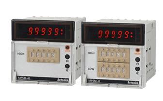 High Performance Digital Pulse Meters Thumbwheel Switch