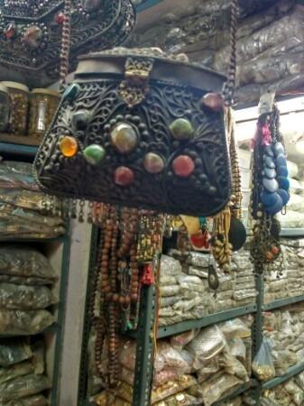 Ladies Side Purse in  Turkman Gate