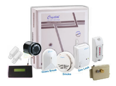 Crystal Multi Floor Home Alarm System