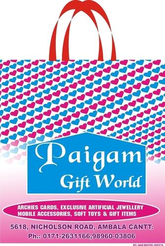 Non Woven Gift Bags in   Saha Distt.