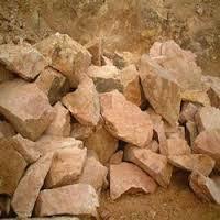 Potash Feldspar Lumps in   Gozariya