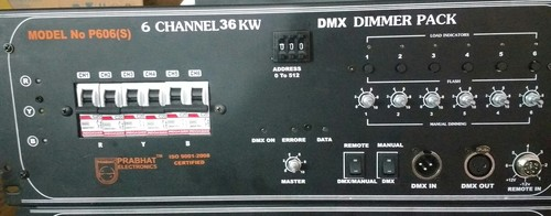 6 Channel Dmx Dimmer Pack in  Tughlakabad