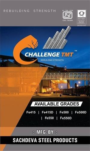 Challenge Tmt Bars 500 Grade