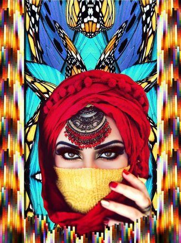 Arabian And Egyptian Kaftan