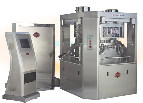 ACCURA Model ACT-IV High Speed Double Rotary Tablet Press