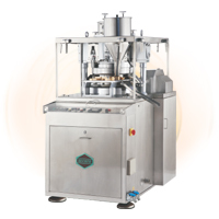 ACCURA Model B4-Double Sided Rotary Tablet Press