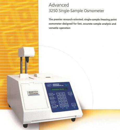 Advanced Osmometers