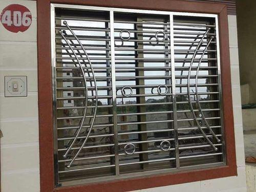 Stainless steel window grills manufacturers suppliers for Window design steel