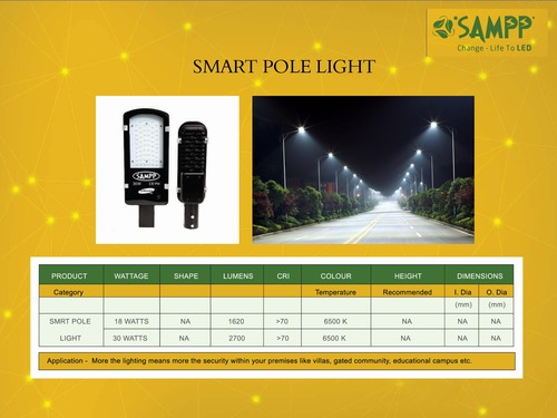 Smart Pole Lights