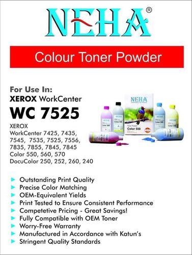 Neha Colour Toner Powder Xerox Workcenter Wc 7525