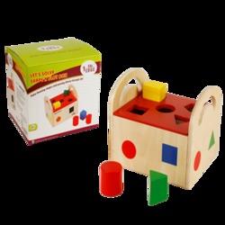 Shape N Slot House Educational Aids
