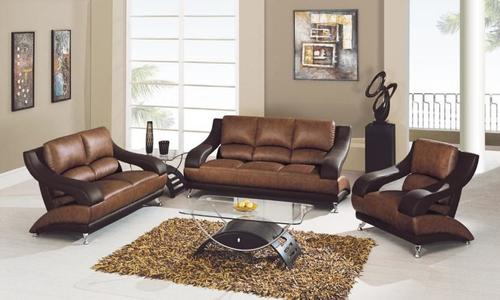 Leather Seat Sofa in   Taluka Maliya