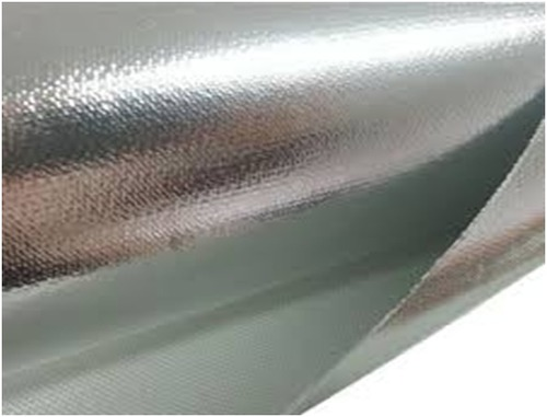 Aluminum Laminated Fiberglass Cloth