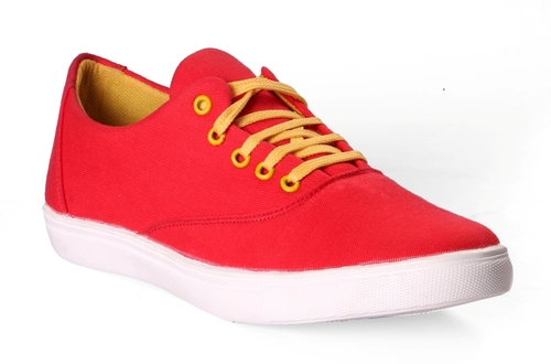 Volt Trendy Red Casual Shoes