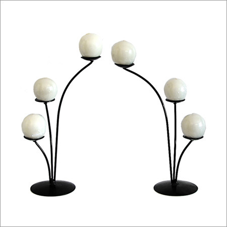 Designer Candle Stand in  6-Sector