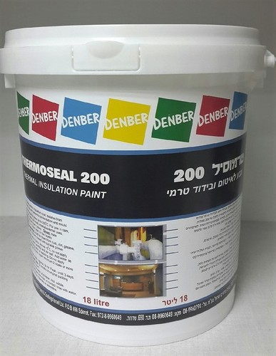 Thermoseal 200 Thermoisolation Wall Paint in   Brussel St.
