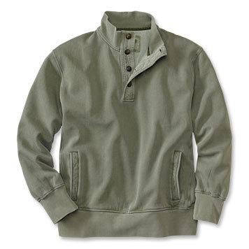 Men Button Sweatshirts