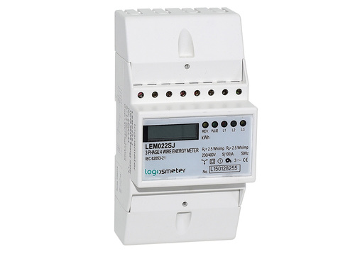 LEM022 Series DIN Rail Three Phase kWh Meter