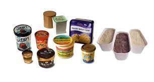 Plastic Ice Cream Packaging Container