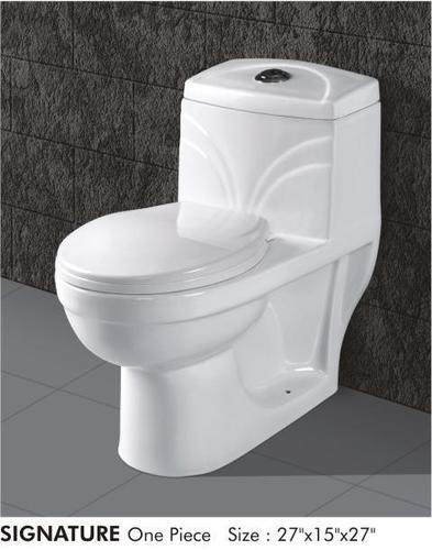 One Piece Toilet in   At Bela