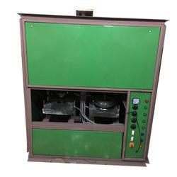 Semi Automatic Double Die Dona Plate Making Machine in  Dabri