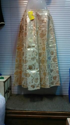 Golden Chanderi Skirts