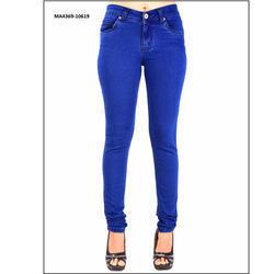 Royal Blue Ladies Jeans in  Dadar (W)