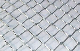 Aluminium Mesh And Aluminium Grill