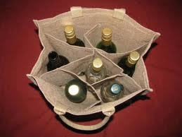 Jute Wine Bag in  B.T. Road