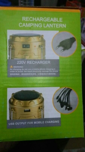 Camping Rechargeable Lanterns