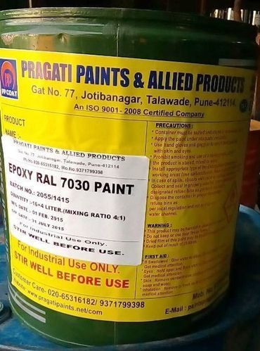 Epoxy Base Paints