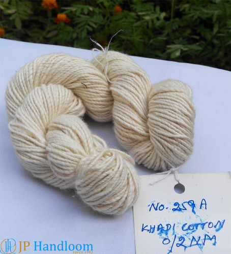 Beautiful Khadi Cotton Knitting Yarn
