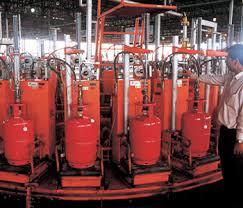 LPG Bottling Plants in   Industrial Area