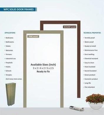 WPC Door Frames in  New Area
