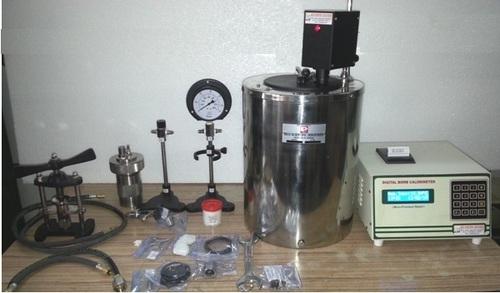 Microprocessor Based Automatic Bomb Calorimeters