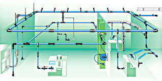 Compressed Air Piping Systems in   Bethora Road