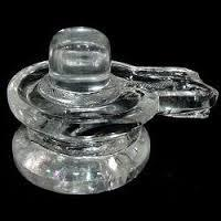 Reliable Crystal Shivling in   Gau Ghat Chowk