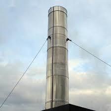 Guyed Steel Chimney